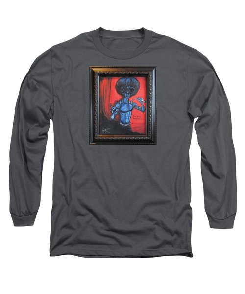 alien Bruce Lee Long Sleeve T-Shirt