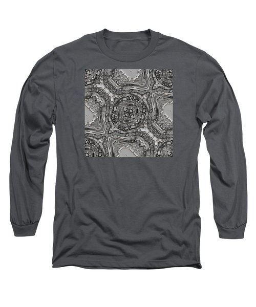 Alien Building Materials Long Sleeve T-Shirt by Craig Walters