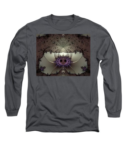 Alien Exotica Long Sleeve T-Shirt by Casey Kotas