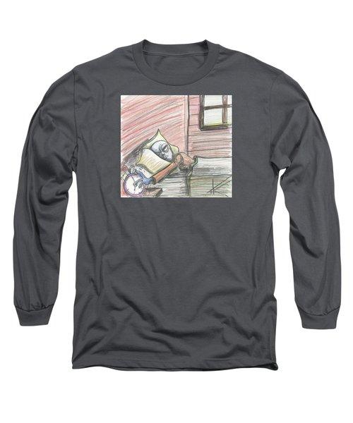 Alien Keeps Snoozin Long Sleeve T-Shirt