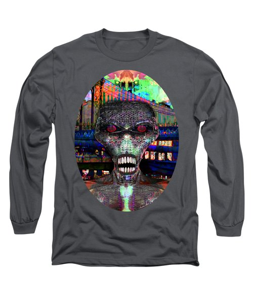 Alien Portrait Long Sleeve T-Shirt