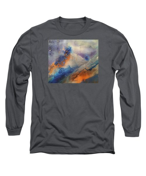 Alien Terrain Long Sleeve T-Shirt by Becky Chappell