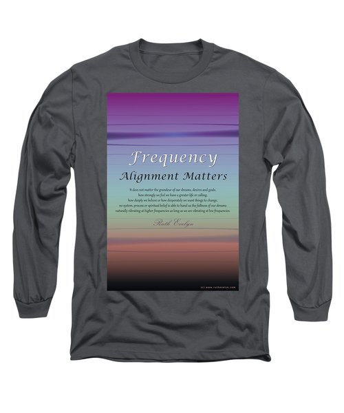 Alignment Matters Long Sleeve T-Shirt