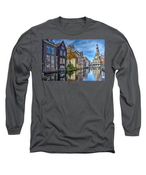 Alkmaar From The Bridge Long Sleeve T-Shirt by Frans Blok