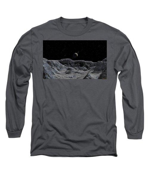 All Alone Long Sleeve T-Shirt by David Robinson