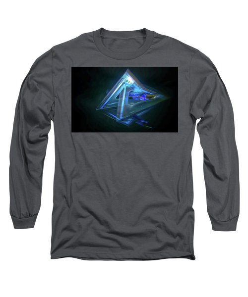 All Angles Covered Long Sleeve T-Shirt by Mark Dunton