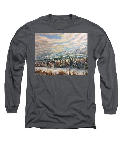 All Of Creation Waits Long Sleeve T-Shirt