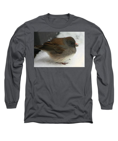 All Puffed Up Long Sleeve T-Shirt by Sheila Brown