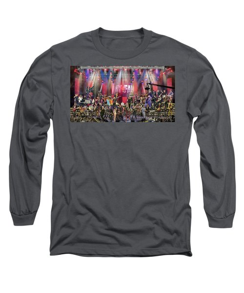 All Star Jam Long Sleeve T-Shirt by Don Olea