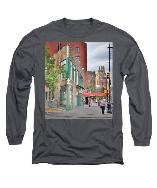 All That Jazz - Greenwich Village Vangaurd  Long Sleeve T-Shirt by Jeffrey Friedkin