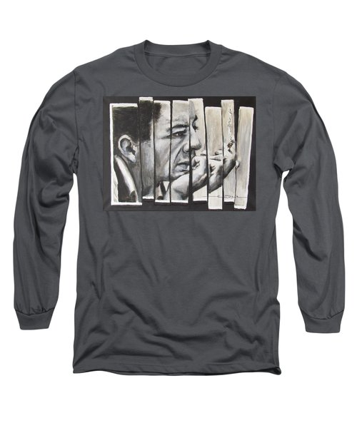 All Together Johnny Cash Long Sleeve T-Shirt