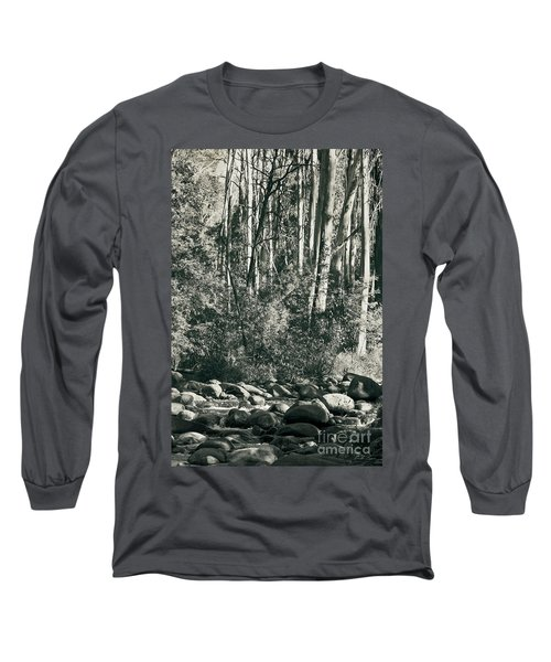 Long Sleeve T-Shirt featuring the photograph All Was Tranquil by Linda Lees