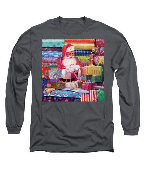 All Wrapped Up Long Sleeve T-Shirt
