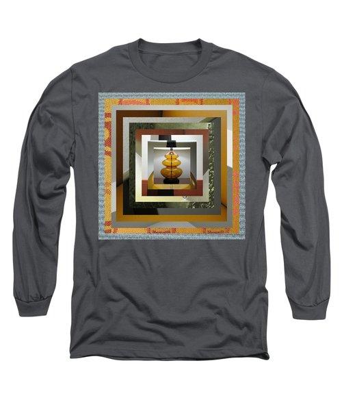 Alladin's Lamp Long Sleeve T-Shirt by Paul Moss