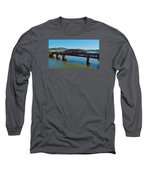 Allegheny Crossing Long Sleeve T-Shirt by William Bartholomew