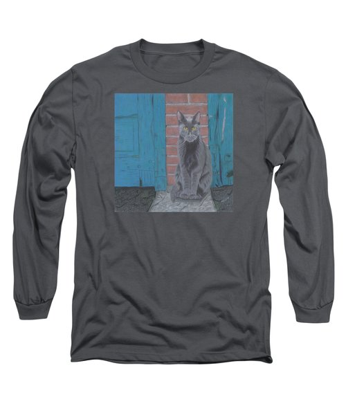 Alley Cat Long Sleeve T-Shirt by Arlene Crafton