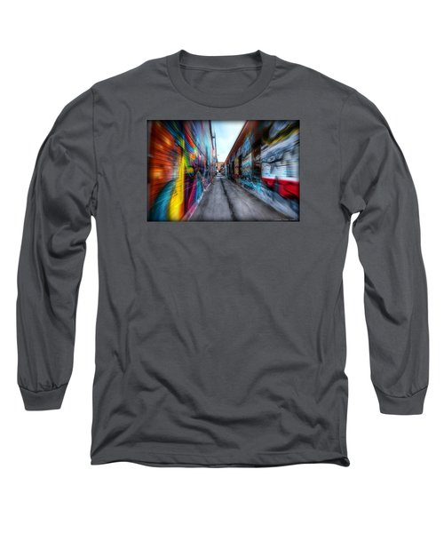 Alley Long Sleeve T-Shirt by Michaela Preston