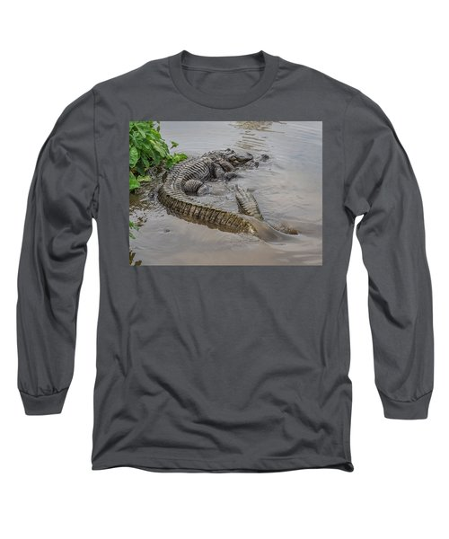 Alligators Courting Long Sleeve T-Shirt