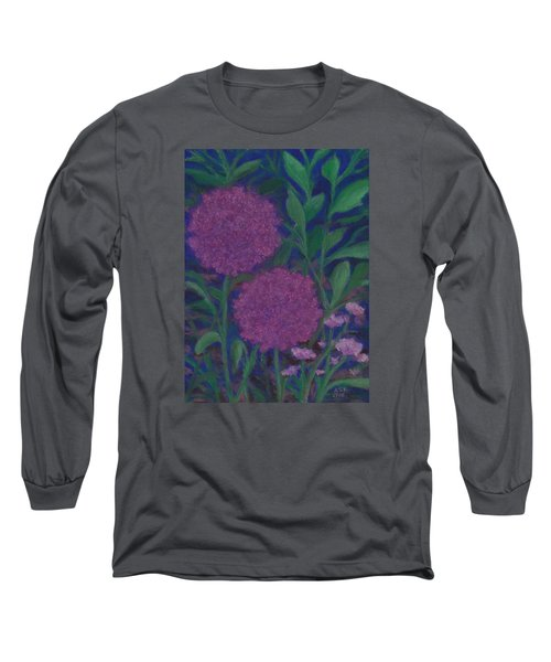 Allium And Geranium Long Sleeve T-Shirt