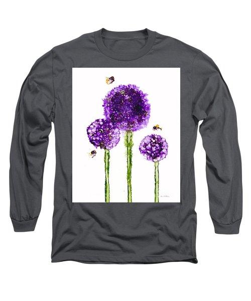 Alliums Humming Long Sleeve T-Shirt