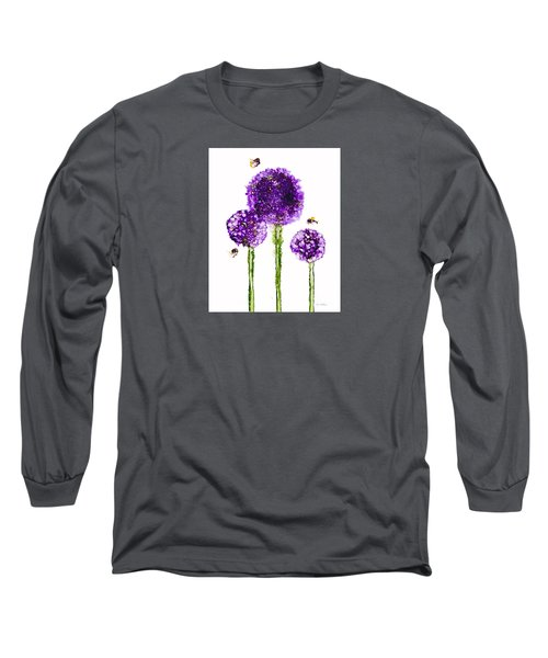 Alliums Humming Long Sleeve T-Shirt
