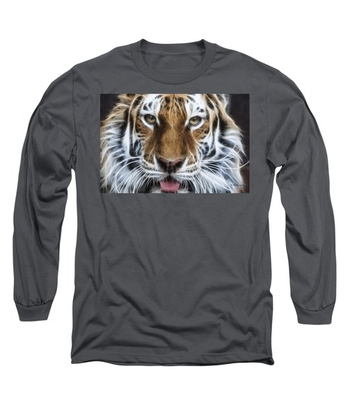 Alluring Tiger Long Sleeve T-Shirt