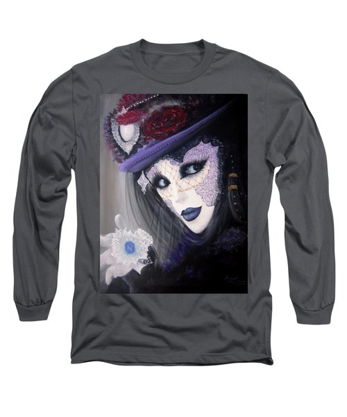 Alluring Venetian Long Sleeve T-Shirt