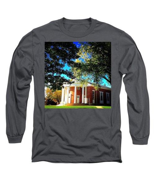 Alma College Dunning Memorial Chapel Long Sleeve T-Shirt