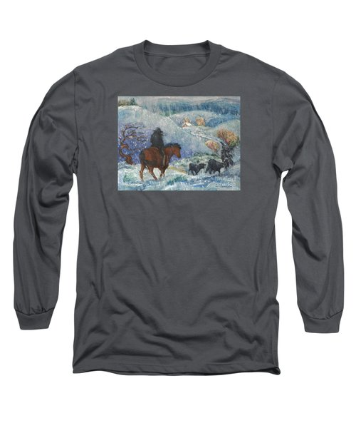 Almost Home Long Sleeve T-Shirt by Dawn Senior-Trask