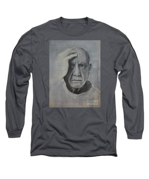 Almost Picasso Long Sleeve T-Shirt by Allison Ashton