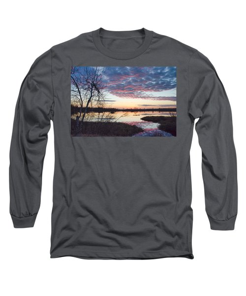 Almost Spring Sunset Long Sleeve T-Shirt