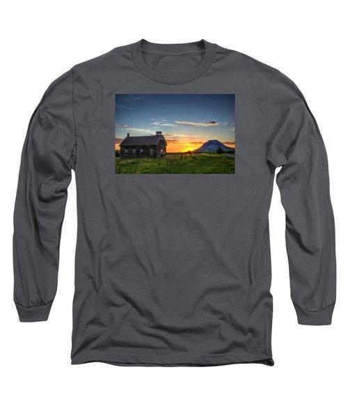 Almost Sunrise Long Sleeve T-Shirt by Fiskr Larsen