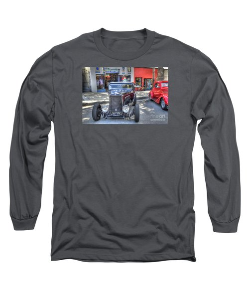 Aloha Cars And Pinups Long Sleeve T-Shirt