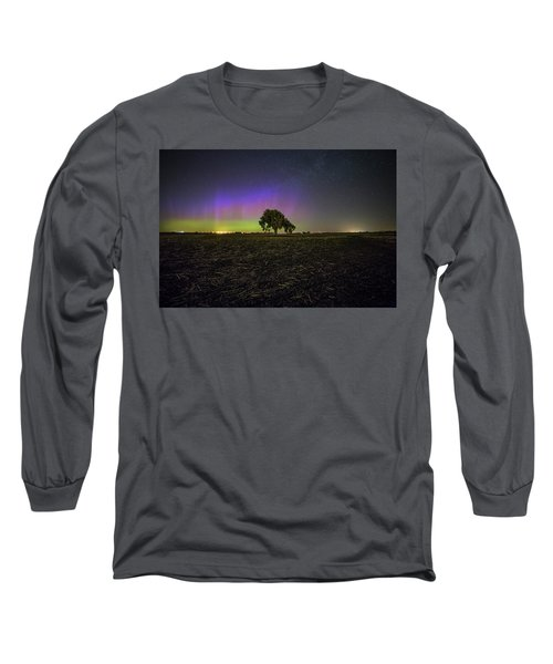 Long Sleeve T-Shirt featuring the photograph Alone by Aaron J Groen