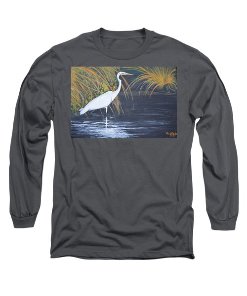 Alone But Happy Long Sleeve T-Shirt