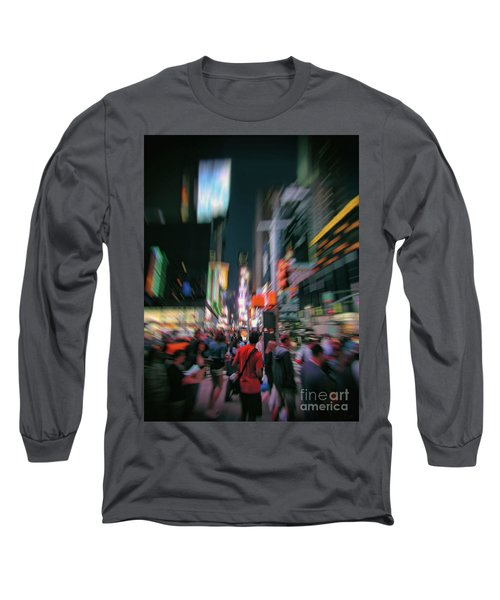 Alone In New York City 1 Long Sleeve T-Shirt