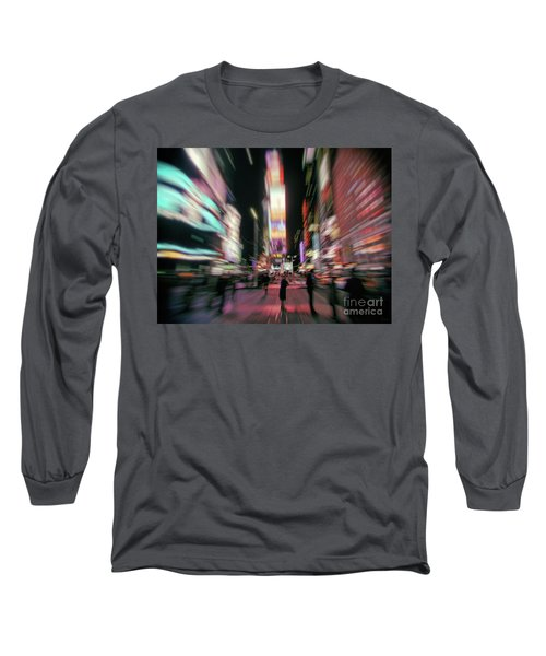 Alone In New York City 3 Long Sleeve T-Shirt
