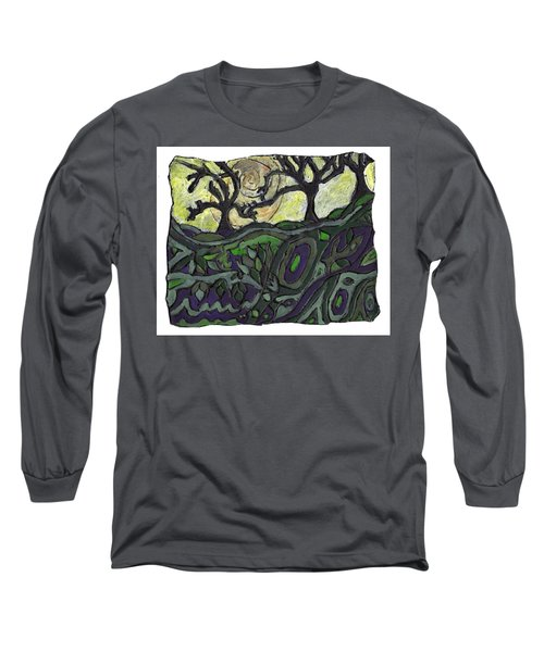 Alone In The Woods Long Sleeve T-Shirt