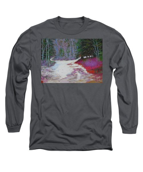 Along The 103  Long Sleeve T-Shirt by Rae  Smith PAC