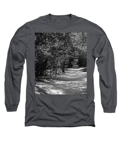 Long Sleeve T-Shirt featuring the photograph Along The Barr Trail by Christin Brodie