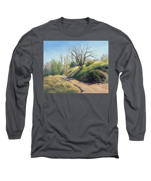 Along The Pacific Crest Trail Long Sleeve T-Shirt