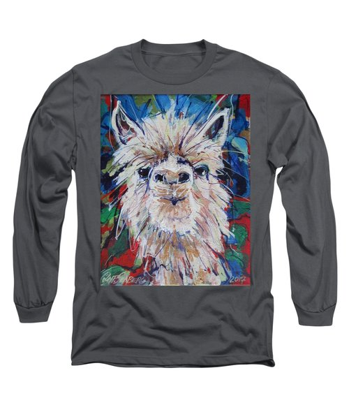 Alpaca Crazed Long Sleeve T-Shirt