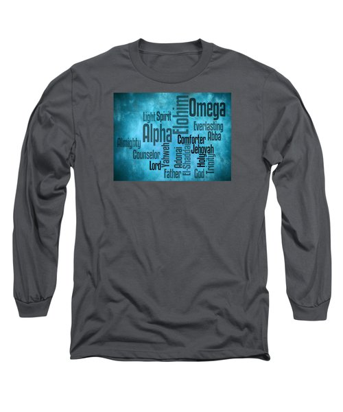 Long Sleeve T-Shirt featuring the digital art Alpha by Angelina Vick