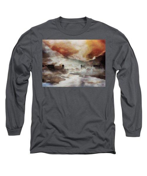 Alpine Landscape Long Sleeve T-Shirt