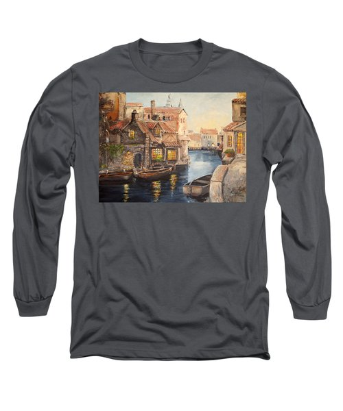Alsace At Dusk Long Sleeve T-Shirt