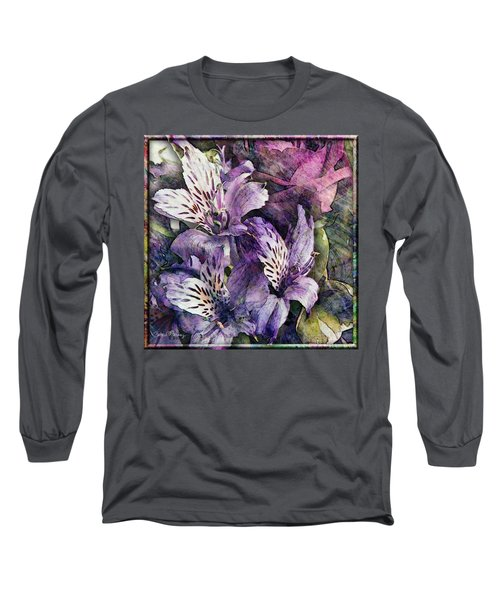 Alstroemeria Long Sleeve T-Shirt