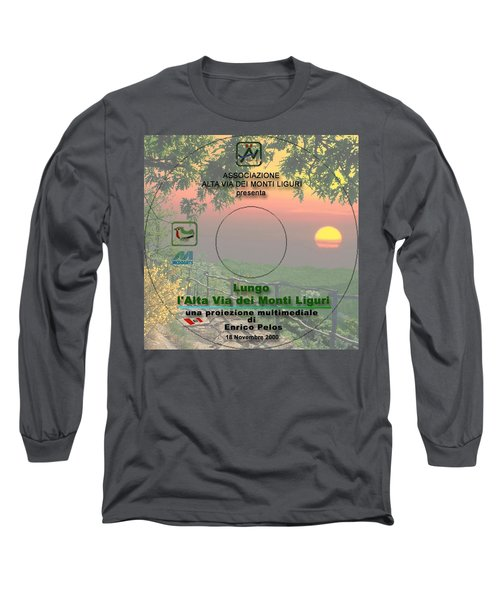 Alta Via Dei Monti Liguri Cd Cover Long Sleeve T-Shirt