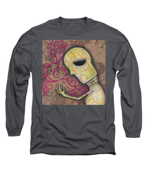Always Alone  Long Sleeve T-Shirt by Abril Andrade Griffith