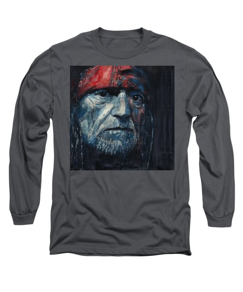 Always On My Mind - Willie Nelson  Long Sleeve T-Shirt
