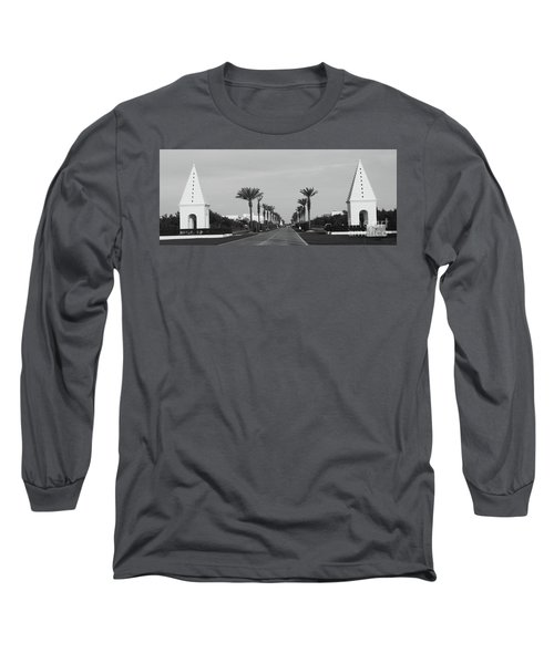 Alys Beach Entrance Long Sleeve T-Shirt by Megan Cohen